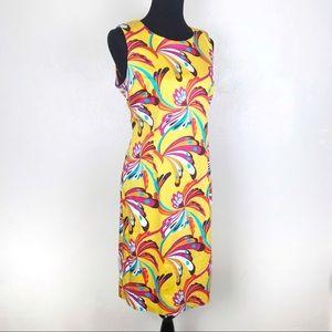 J.W. TRECI Womens Dress Vintage Retro Mod